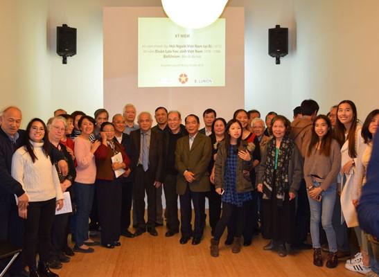 Hội người Việt Nam tại Bỉ kỷ niệm 45 năm ngày thành lập và